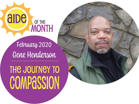 February 2020 Aide of the Month — Gene Henderson