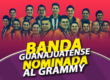 Banda Guanajuatense nominada al Latin Grammy
