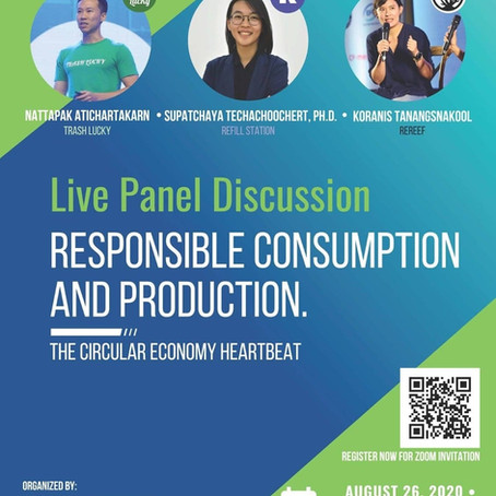 Responsible Consumption & Production-- The Circular Economy Heartbeat