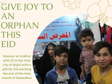 This Eid, bring a smile to an Orphaned child.