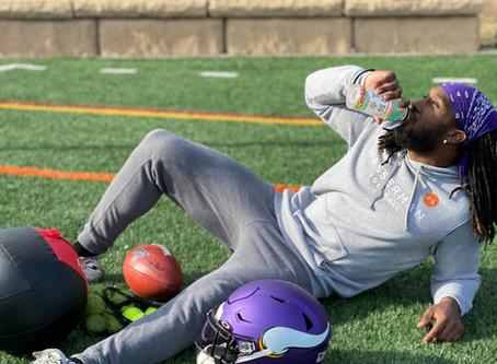 Minnesota Vikings Alex Mattison Makes the Switch to Hydra-Guard Sports Drink