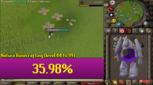 Skilling Pets (chance of getting one to lvl 99)