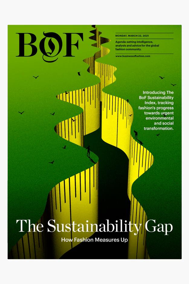 Estudo sobre sustentabilidade na moda do BOF