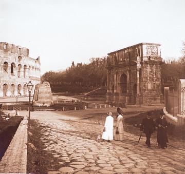 """Dalla mia collezione """"Roma""""  di A. De Giorgio"""