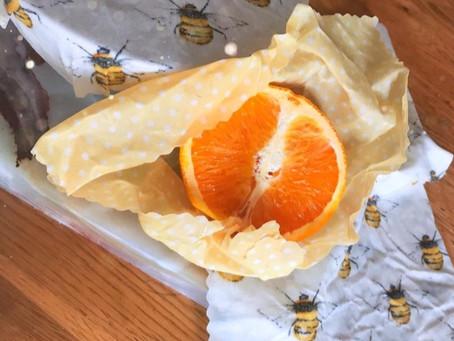 Envoltorios de cera de abeja, un sustituto al plástico