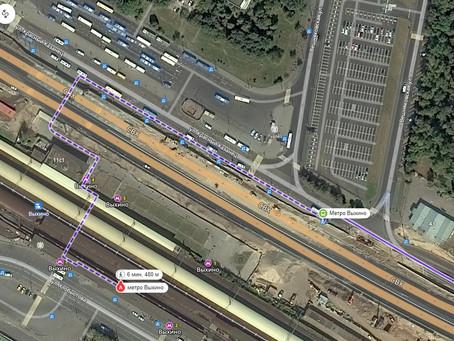 Как доехать до ЖК от метро?