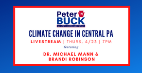 Buck hosts Climate Change experts for 50th Earth Week