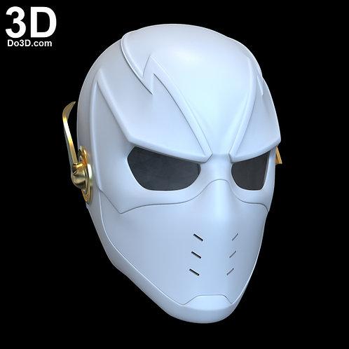 3D Printable Model: Godspeed SE6 Flash Cowl Helmet   File Format: STL N32