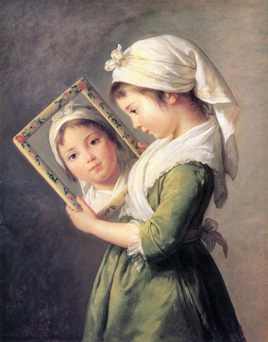 Élisabeth Vigée-Lebrun, Julie Lebrun, 1787