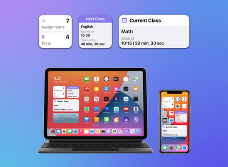 School Assistant Version 2.1 with Widgets Now Available