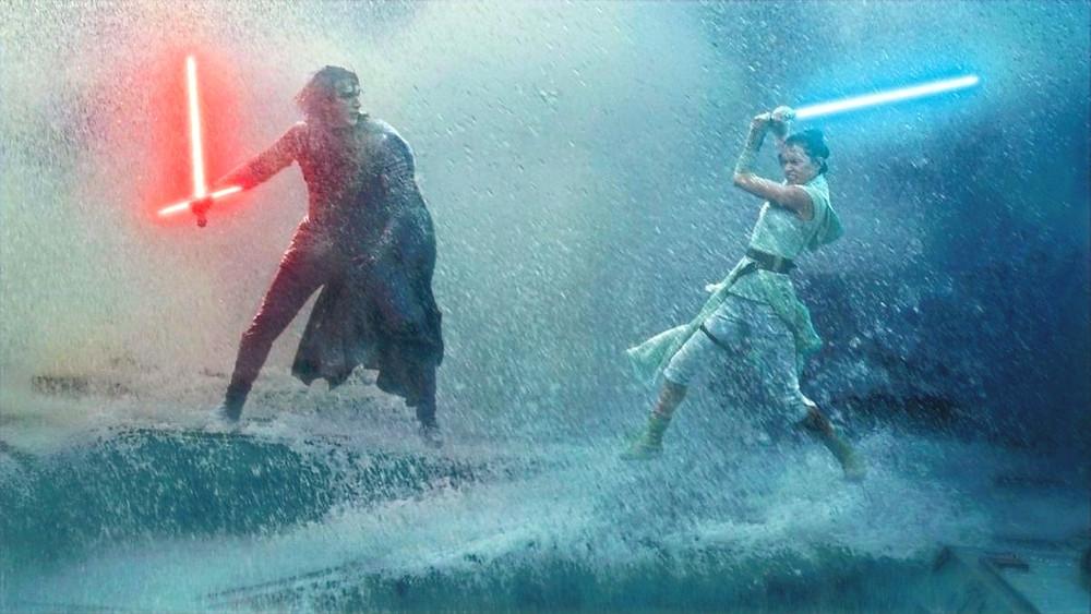 lightsaber battle