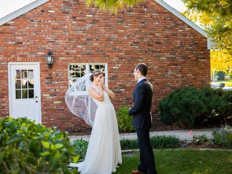Lauren + Cass' Romantic Industrial Wedding in Illinois!