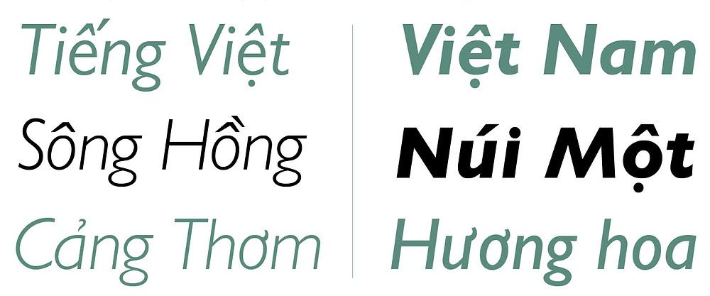 Font Chữ FS Gill Sans MT Pro Việt Hóa
