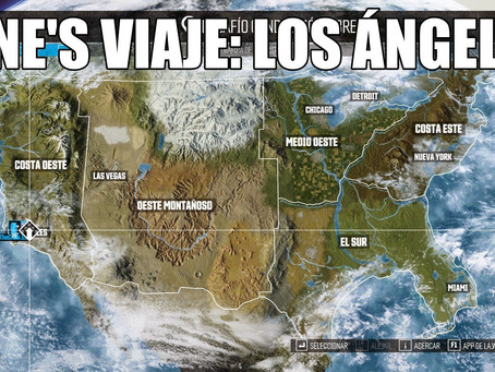 RUTA DCL   KINE'S VIAJE: LOS ÁNGELES (G7LX3CX)