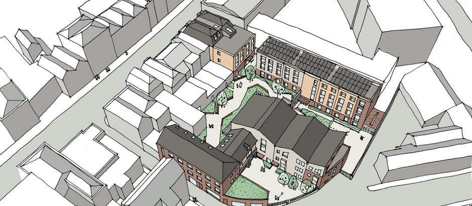 New mixed development scheme in Stokes Croft, Bristol