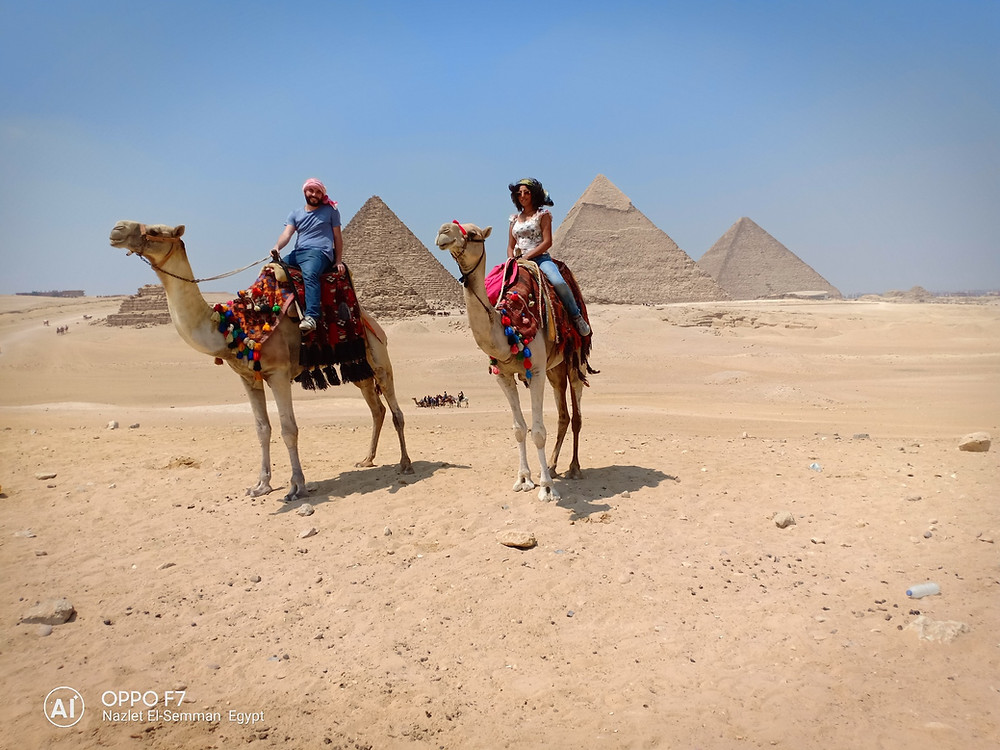 The highest point on Giza Plateau,where we can see the best view for the 9 Pyramids of Gizs