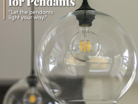 Penchant For Pendants!