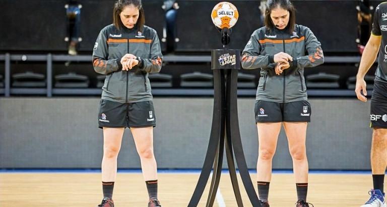 Apenas mulheres comandam em quadra na EHF Euro Feminina 2020