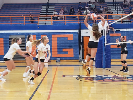 Oak Ridge Volleyball downs Campbell County for second time this season
