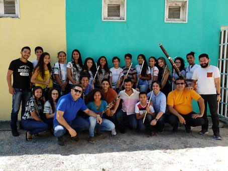 Escola de Música de Pindoretama recebe residências artísticas