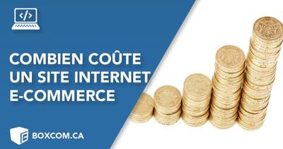 Combien coûte un site internet e-commerce ? Prix d'une boutique en ligne