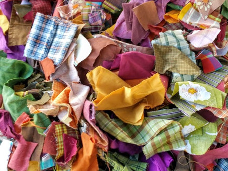 Sourcing and Sorting Fabric for Projects
