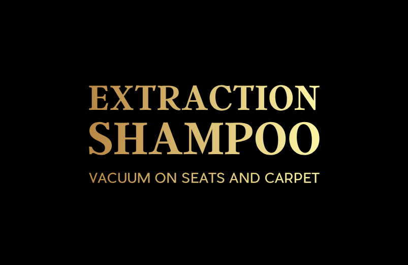EXTRACTION SHAMPOO VACUUM ON SEATS AND CARPET BY SPARKLING STAR DETAILING