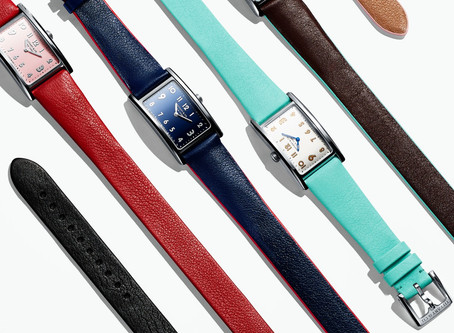 Tiffany East West Watches: Unconventionally Beautiful