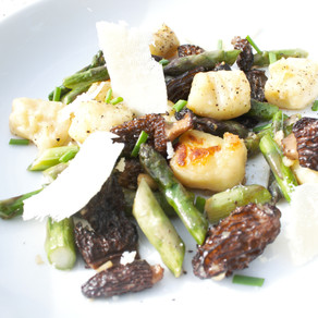 Big Sky Bounty: Spring Gnocchi with Morels and Wild Asparagus
