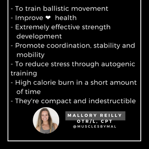 Why Train With Kettlebells?