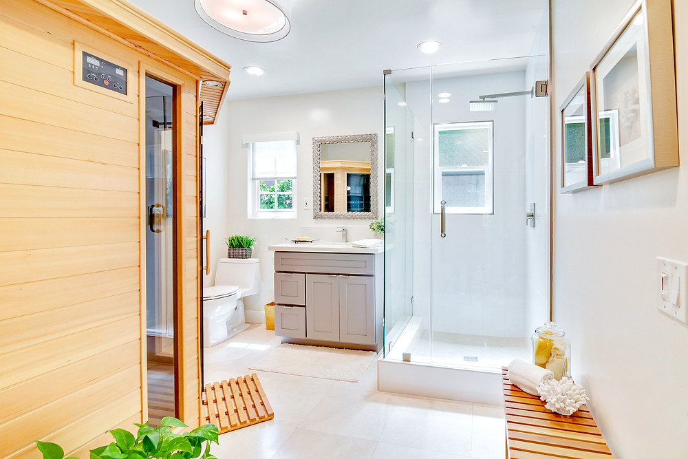 Infrared Sauna Home Remodel