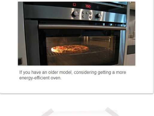 Oven (electric) Suggestion