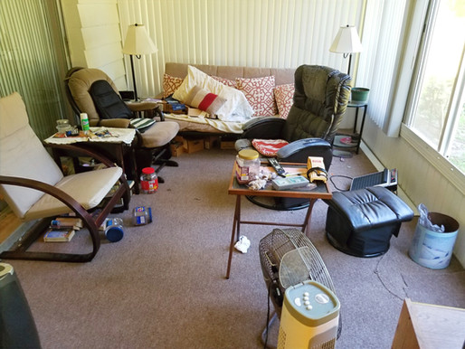 Tenant left stuff behind... Now what?