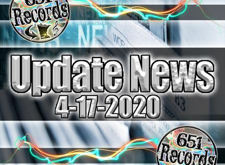 April 17th, 2020 (Update News)