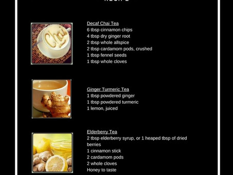 Tea Blend Recipes