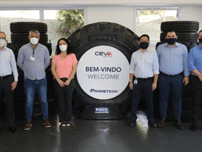 Fabricante de pneus entra na luta contra Covid-19
