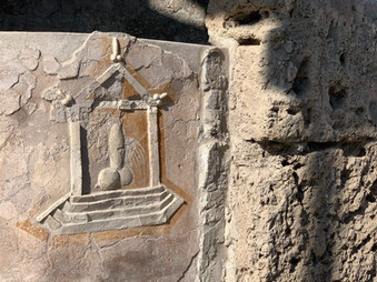 The Eruption of Mount Vesuvius in Pompeii Destroyed the City but Left the Phalluses?