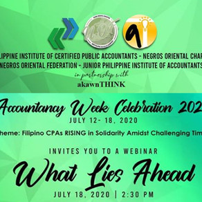 [ARCHIVED VIDEO] ACW20 PICPA + JPIA Negros Oriental Chapter: What Lies Ahead Webinar (July 18, 2020)