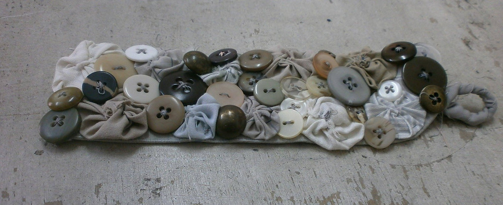 Fabric fucc bracelet