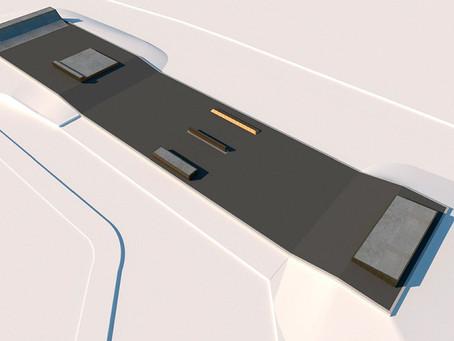 Tre nya ytor för hjulsport byggs i Helsingborg