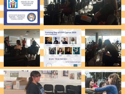 EYP Cyprus Training Day 2020
