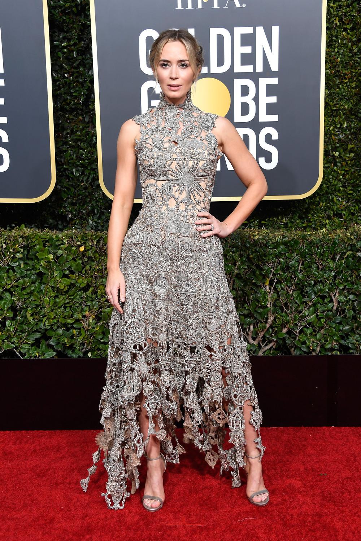 Emily Blunt Golden Globes