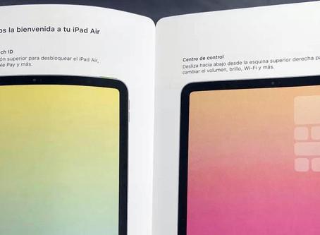 Rumor: vaza manual do iPad Air 4 e revela novo design e Touch ID no botão superior