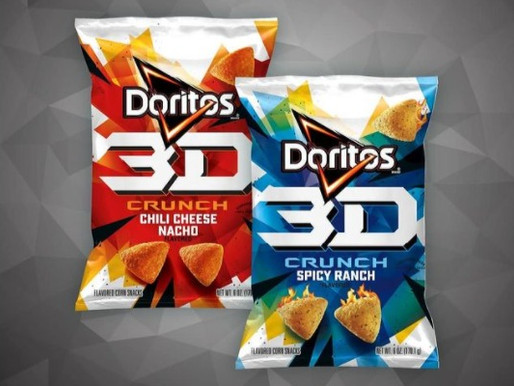 NIGHTMARE NUTRIENTS: 3D Doritos Are Coming Back With Two New Flavors