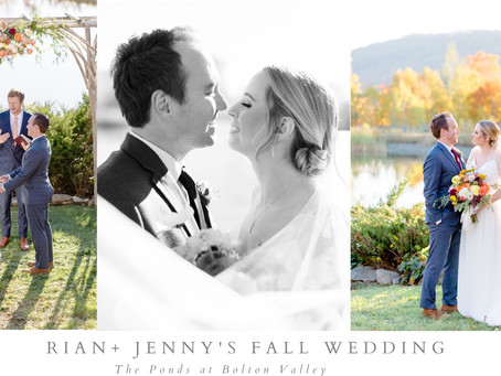 Rian and Jenny's Vermont Fall Wedding