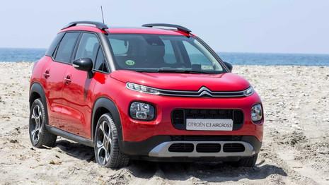 Citroën modifie la gamme du C3 Aircross