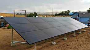 Ground Mount Solar Electric System in Silver Springs, NV by GST Nevada