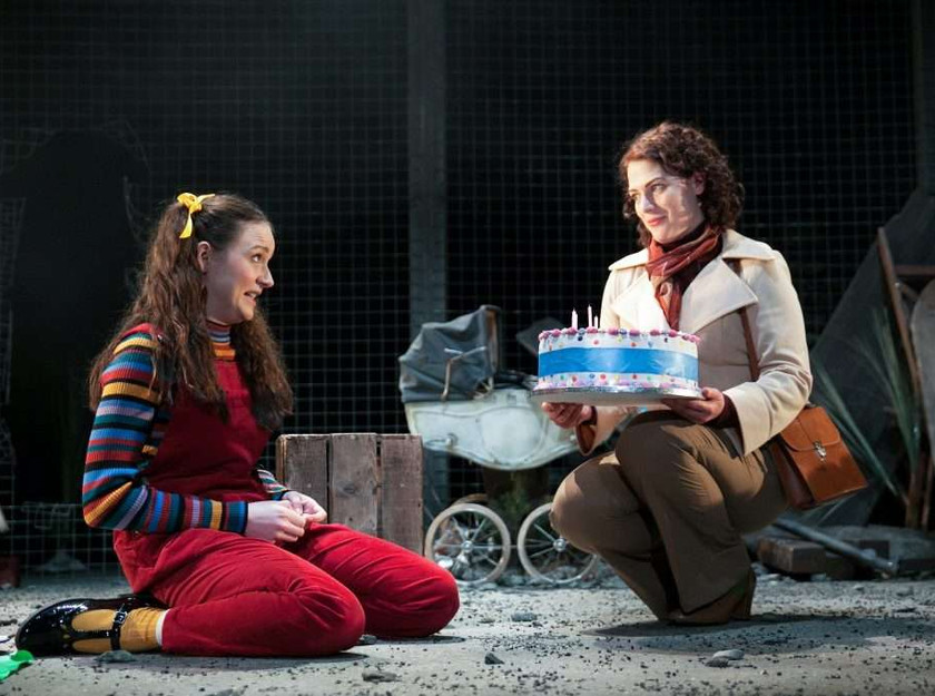Rebecca Birch and Kathryn Ritchie in My Mother Said I Never Should at Oldham Coliseum