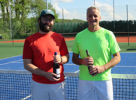 Sun Shines On Men's Tournament Winners