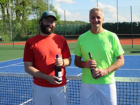 Sun Shines On Men's Tournament Winners